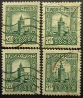 TUNISIE N°169 X 6 Oblitéré - Timbres