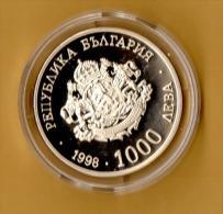 BULGARIA - 1998, 1000 Leva -  CuNi - Bulgaria