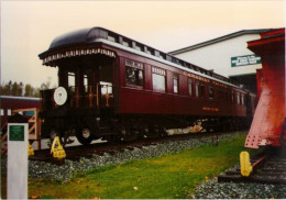 Heritage Park - Voiture Observation Ancienne Du CP - 1996 - Trains