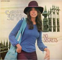 * LP *  CARLY SIMON - NO SECRETS (England 1972 EX-!!!) - Vinylplaten