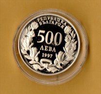 BULGARIA - 1997, 500 Leva -  CuNi - Bulgaria