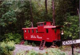 Cabosse 805 - Salle D'attent à Denver - 1998 - Trains