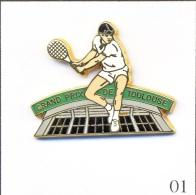 Pin´s - Sport - Tennis / Grand Prix De Toulouse (31) - Cartouche Vert. Est. Arthus Bertrand Paris. T237-01 - Tennis
