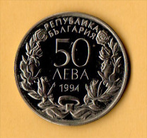 BULGARIA - 1994, 50 Leva -  CuNi - Bulgaria