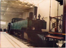 Loco Ee 204 De CEH (Batignoles, 1903) - Trains