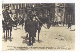 CPA PARIS TRANSLATION DES CENDRES DE ZOLA AU PANTHEON LE 4 JUIN 1908 - France