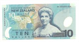 New Zealand 10 Dollars 1999 AA UNC .S. - Nuova Zelanda