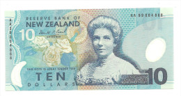 New Zealand 10 Dollars 1999 AA UNC .S. - New Zealand