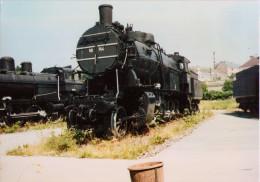 Locomotive (140) 58-744 (1923) - Vienne, Musée Du Chemin De Fer - 1991 - Trains