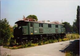 Locomotive BB 1570 (1925) - Vienne, Musée Du Chemin De Fer - 1991 - Trains
