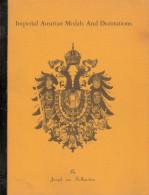 IMPERIAL AUSTRIAN MEDAL DECORATION MEDAILLE AUTRICHE IMPERIALE GUIDE COLLECTION - Autriche