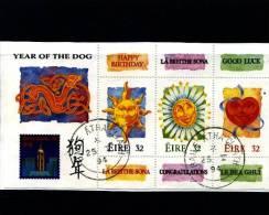 IRELAND/EIRE - 1994  YEAR OF THE DOG   MS FINE USED - Irlanda