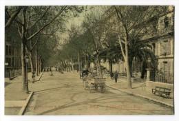 Ref 194 - NICE - Boulevard Victor Hugo (jolie Carte Avec Attelage) - Autres