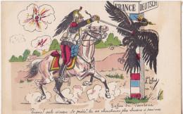 Carte Militaire Fantaisie Satirique Guerre 1914. - Guerre 1914-18