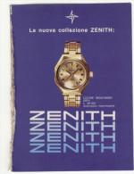 1970 - Orologio Collezione ZENITH - Inserto Pubblicità Di 8 Pagine Cm. 13 X 18 - Orologi Da Polso
