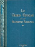 LES ORDRES FRANCAIS RECOMPENSES NATIONALES DECORATION MEDAILLE GUIDE COLLECTION BOURDIER 1977 - France