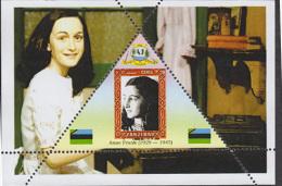 Fantasy Label Famous Anne Frank NEW 6  Blocks - Femmes Célèbres