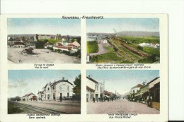 SRB529  --  KRUSEVAC  --  BAHNHOF, LA GARE, RUE PRINCE MICHEL, CHAUFFERIE DE CHEMIN DE FER ET GARE DE VOIE ETROITE, ZELE - Serbia