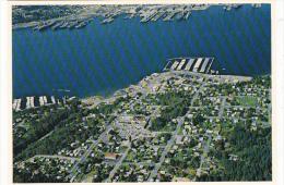 Aerial View Port Orchard Washington - United States