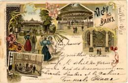 Vichy Les Bains - Kunzli 961 - Timbre Y&T France N°103 (Pliure Sur Le Coin Supérieur Droit) - Vichy