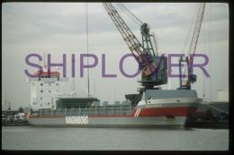 Diapositive Authentique Cargo VECHTBORG (réf. D04698) - Ship 35 Mm Photo Slide - Bateau/ship/schiff - Bateaux