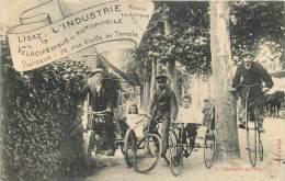 LISEZ L'INDUSTRIE REVUE TECHNIQUE VELOCIPEDIQUE QUELQUES ANCETRES - Postcards