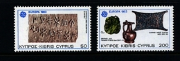 CYPRUS - 1983  EUROPA  SET  MINT NH - Chypre (République)