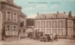 MARCILLY SUR SEINE HOTEL SAINT NICOLAS LA POMPE A ESSENCE - Francia