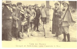 R966-7-8-9 - ***REPRODUCTION CECODI*** TOUR DE FRANCE 1910 - 4 CARTES - Francia