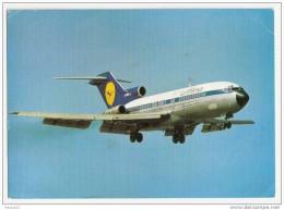 H382 AVION LUFTHANSA BOEING 727 EUROPA JET 1969 CACHET TIMBRE FLAMME - 1946-....: Moderne