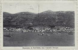 PORT VATHY  /   Panorama _ Viaggiata 1922 - Grecia