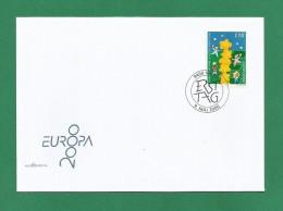 Liechtenstein  2000 Mi.Nr. 1234 , EUROPA CEPT - Kinder Bauen Einen Sternenturm - FDC - Vaduz - 9 Mai 2000 - - 2000