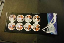 Canada1999 Canadian Astronauts Garneau Hadfield Bondar MacLean Thirsk Williams Payette Self-adhesive From 2003 MNH A04s - Blocchi & Foglietti