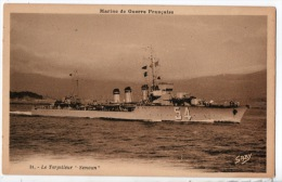 """Marine De Guerre Française . LE TORPILLEUR """" SIMOUN """" - Réf. N°7452 - - Warships"""