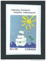 Canada, 2013, B20,  Canada Post Community Foundation,  Sun, Water,  Floating Adrift Eau Soleil Voilier A La Derive, - Carnets