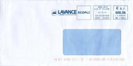 EMA MM 116062 Bruz CDIS Ille Et Vilaine 35 + Flamme Lavance Lavage Auto - Voiture - Marcofilie (Brieven)