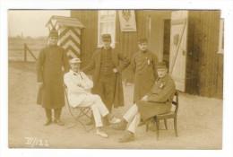 GUERRE  1914-18  /  GROUPE  DE  PRISONNIERS  ( Allemands, Français Ou Anglais  ? ) /  Edit.  OTTO  WENDT , QUEDLINBURG - Weltkrieg 1914-18