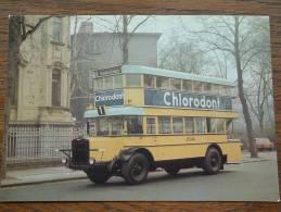 Doppeldeck Omnibus NAG-D2 Der - Anno 19?? ( Zie Foto Details ) !! - Bus & Autocars