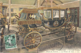 VERSAILLES - 78  CPA COLORISEE De 1909 - Petit Trianon - Muséee - La Voiture Du Tsar - Aaa - - Versailles (Château)