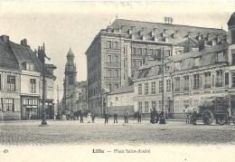 NORD PAS DE CALAIS - 59 - NORD - LILLE - Place Saint André - Lille
