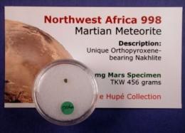 - METEORITE – NWA 998 - MARTIAN METEORITE - 6 MG - Météorites