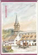 90.- LEPUIX-GY .- Eglise 1870 Fontaine N.Dame   , Illustr. C.Odile - Autres Communes