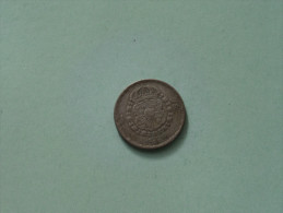 1946 TS - 1 Krona / KM 814 ( Uncleaned Coin / For Grade, Please See Photo ) !! - Suède