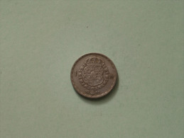 1948 TS - 1 Krona / KM 814 ( Uncleaned Coin / For Grade, Please See Photo ) !! - Suède