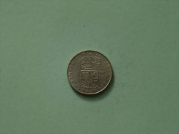 1964 U - 1 Krona / KM 826 ( Uncleaned Coin / For Grade, Please See Photo ) !! - Suède