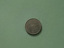 1965 U - 1 Krona / KM 826 ( Uncleaned Coin / For Grade, Please See Photo ) !! - Svezia