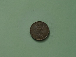 1966 U - 1 Krona / KM 826 ( Uncleaned Coin / For Grade, Please See Photo ) !! - Suède