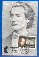 Rumänien; Maximumcarte; Eminescu; Botosani 1982 - Maximumkarten (MC)