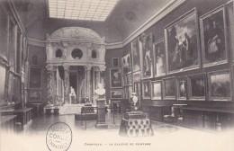 Cp , 60 , CHANTILLY , Le Château , Le Musée Condé , La Galerie De Peinture - Chantilly