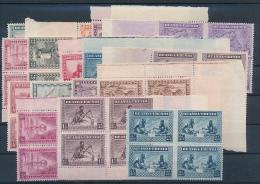 RUANDA URUNDI 1931/37 ISSUE COB 92/106 + 111/113 MNH